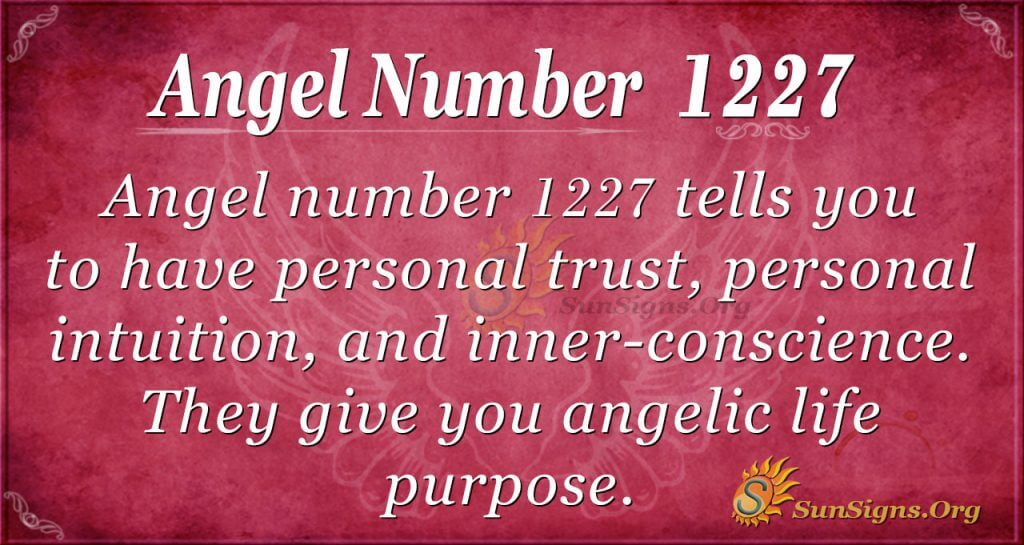 angel number 1227