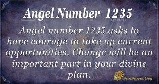 angel number 1235