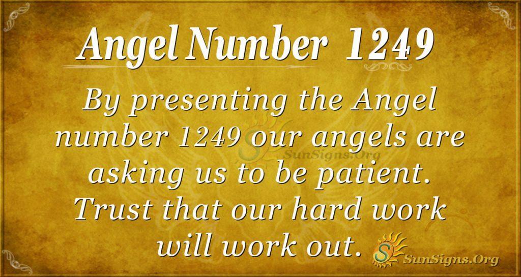 angel number 1249