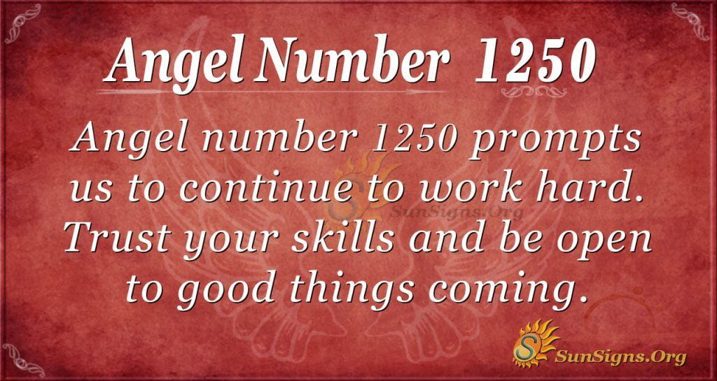angel number 1250