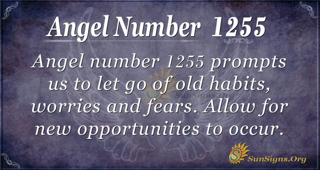 angel number 1255