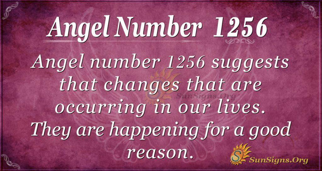 angel number 1256