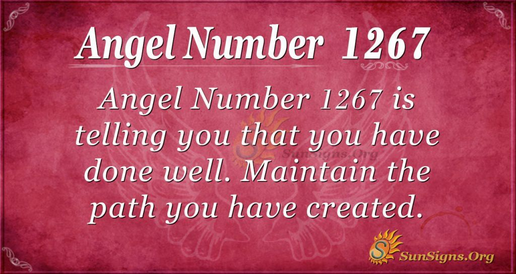 angel number 1267