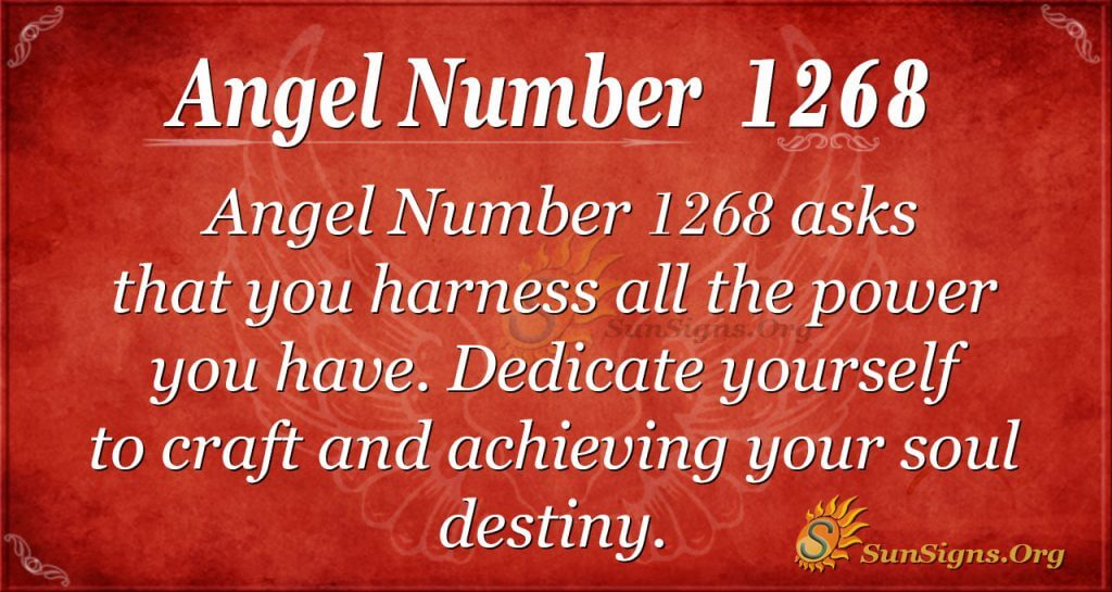 angel number 1268