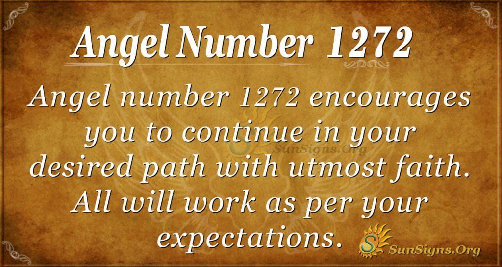 angel number 1272