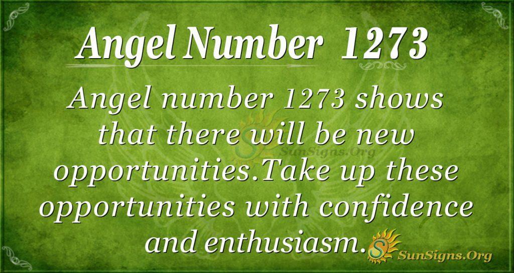 angel number 1273