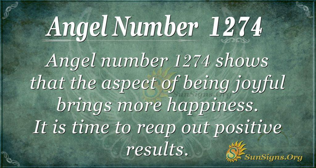 angel number 1274