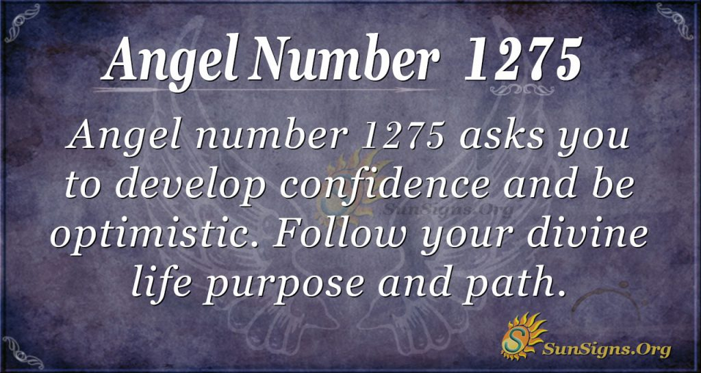 angel number 1275