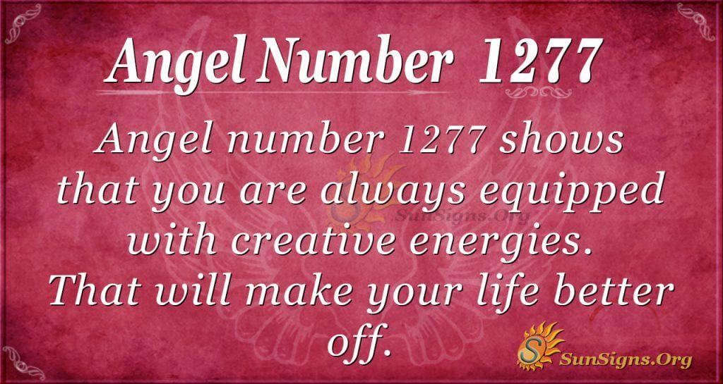 angel number 1277