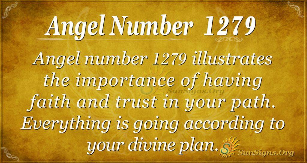 angel number 1279