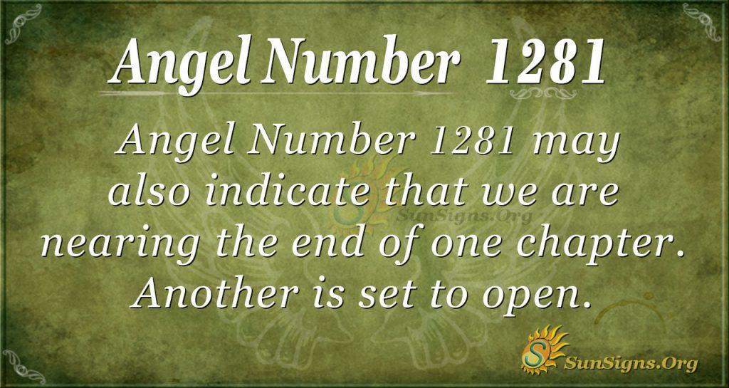 angel number 1281
