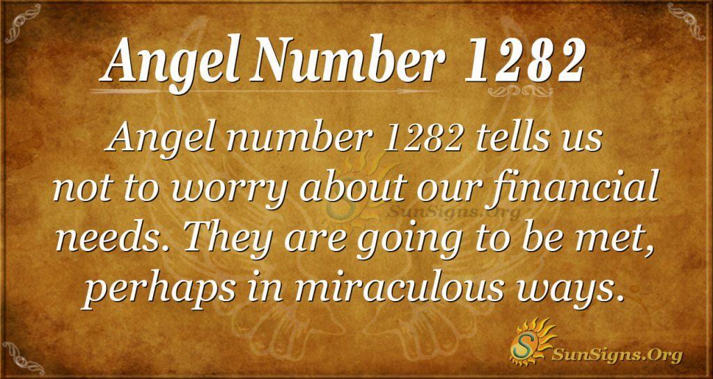 angel number 1282
