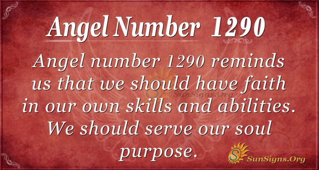 angel number 1290