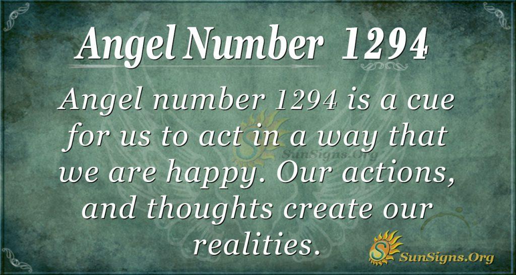 angel number 1294