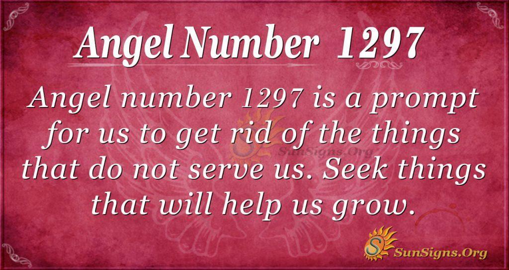 angel number 1297
