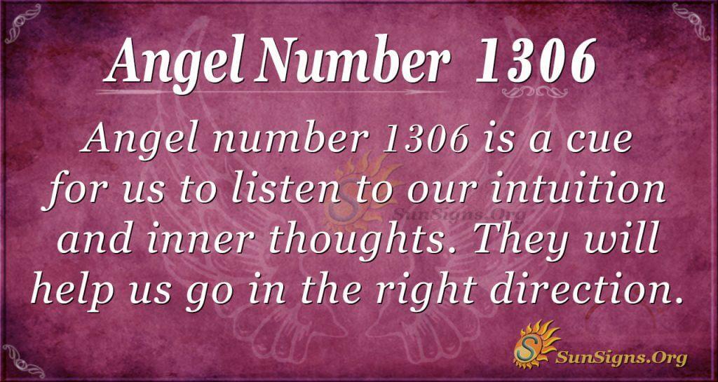 Angel number 1306