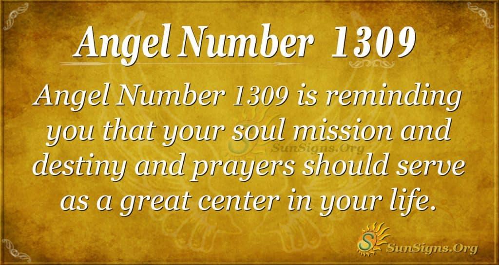 Angel number1309