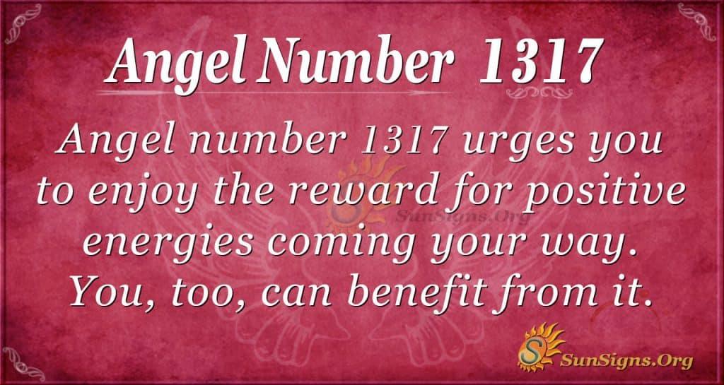 Angel Number 1317