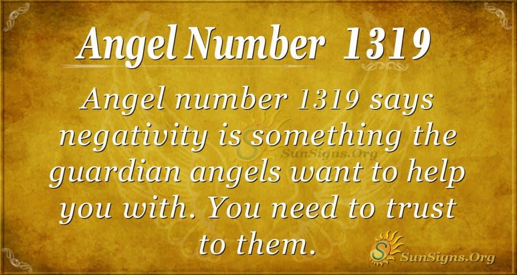 Angel Number 1319