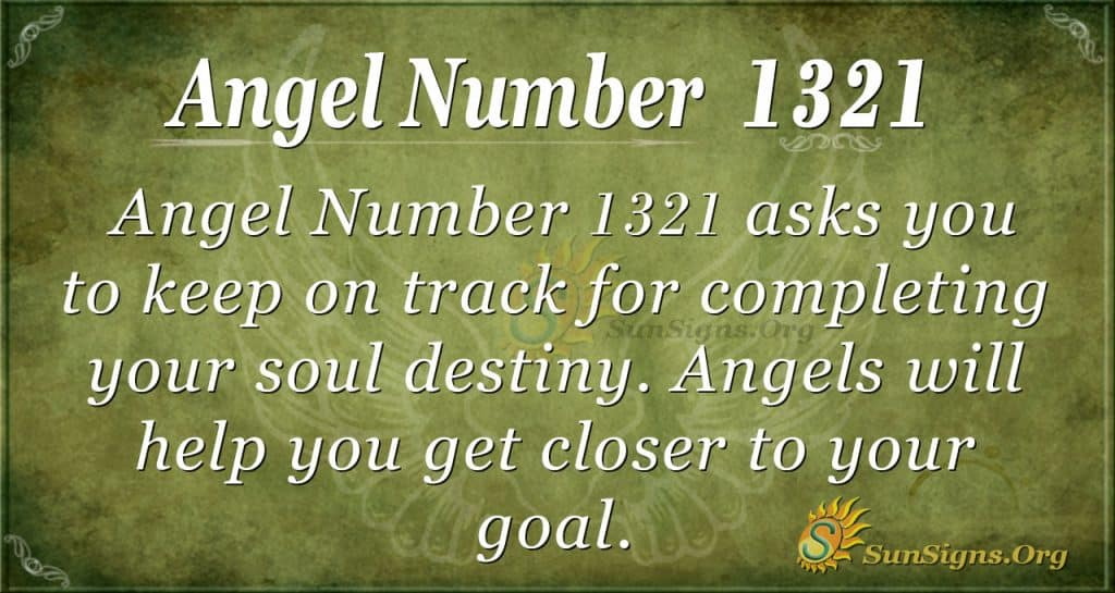 Angel Number 1321