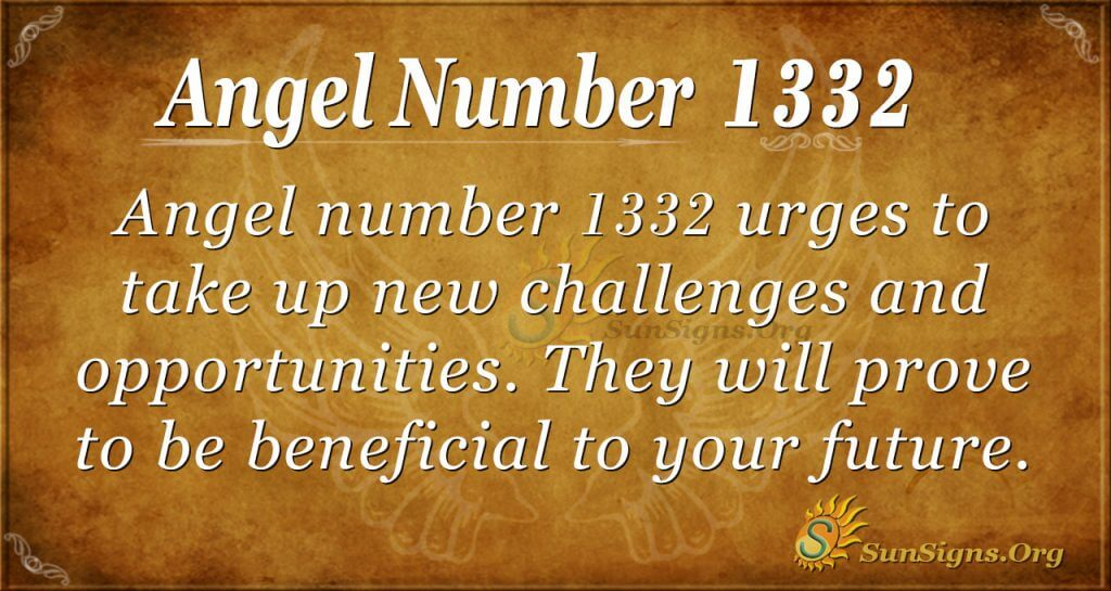Angel Number 1332