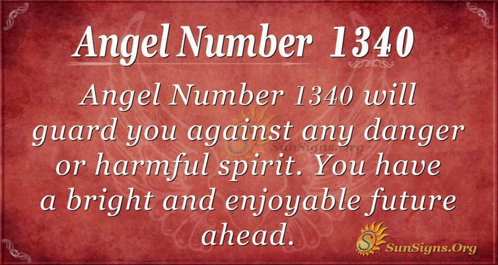 Angel Number 1340