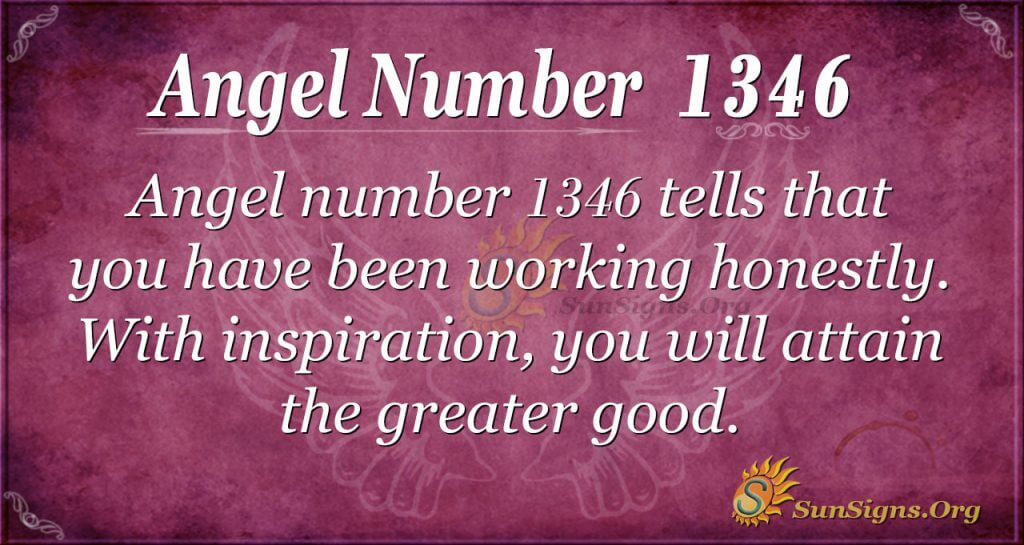 Angel Number 1346