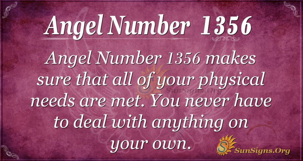 Angel Number1356