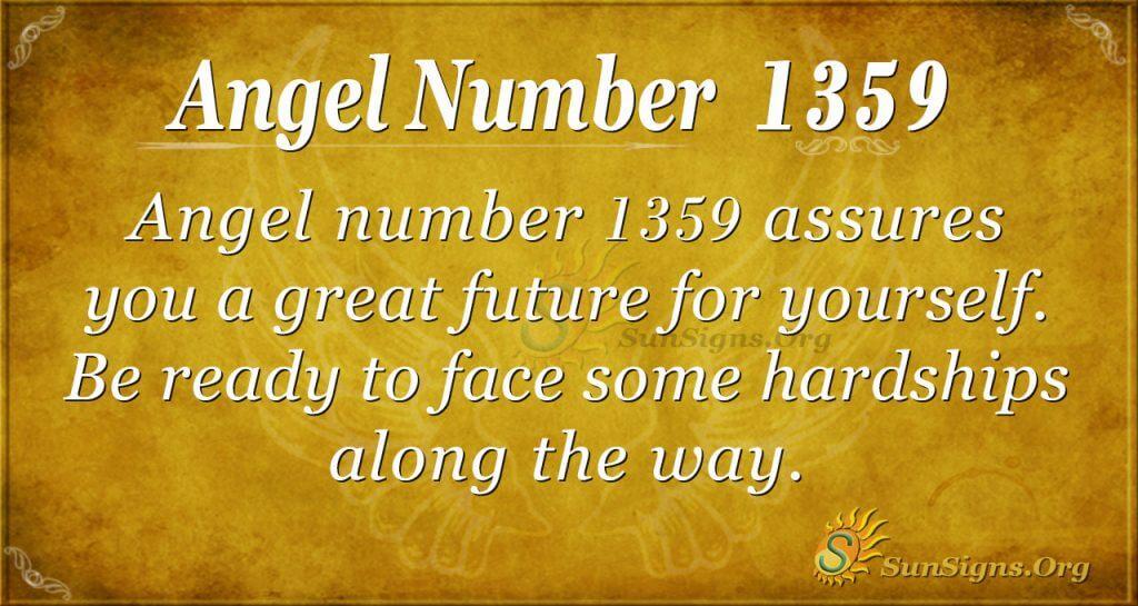 Angel Number1359