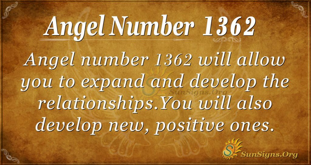 Angel Number 1362