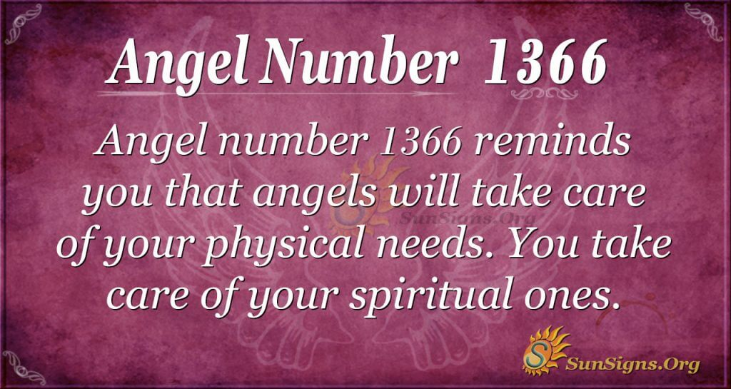 Angel Number 1366