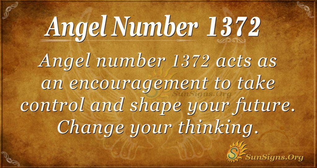 Angel Number 1372