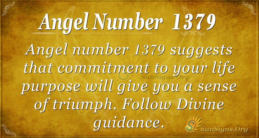 Angel Number 1379