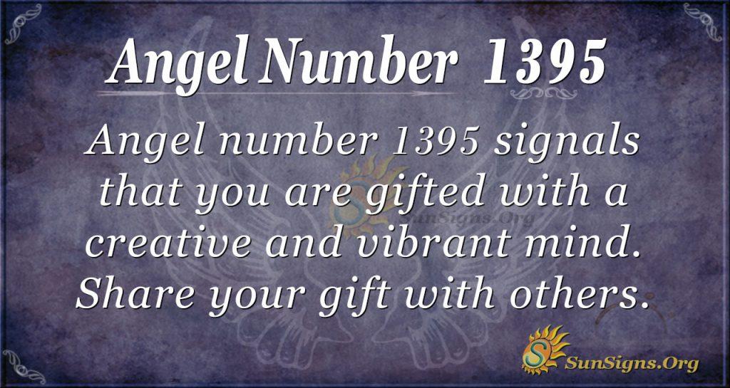 Angel Number 1395