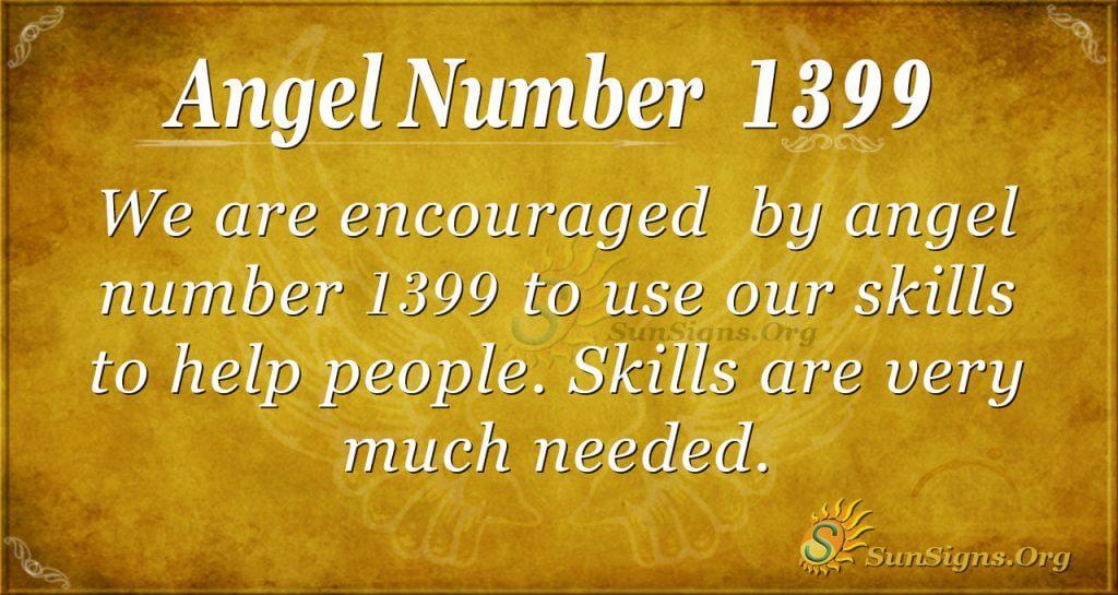 Angel Number 1399