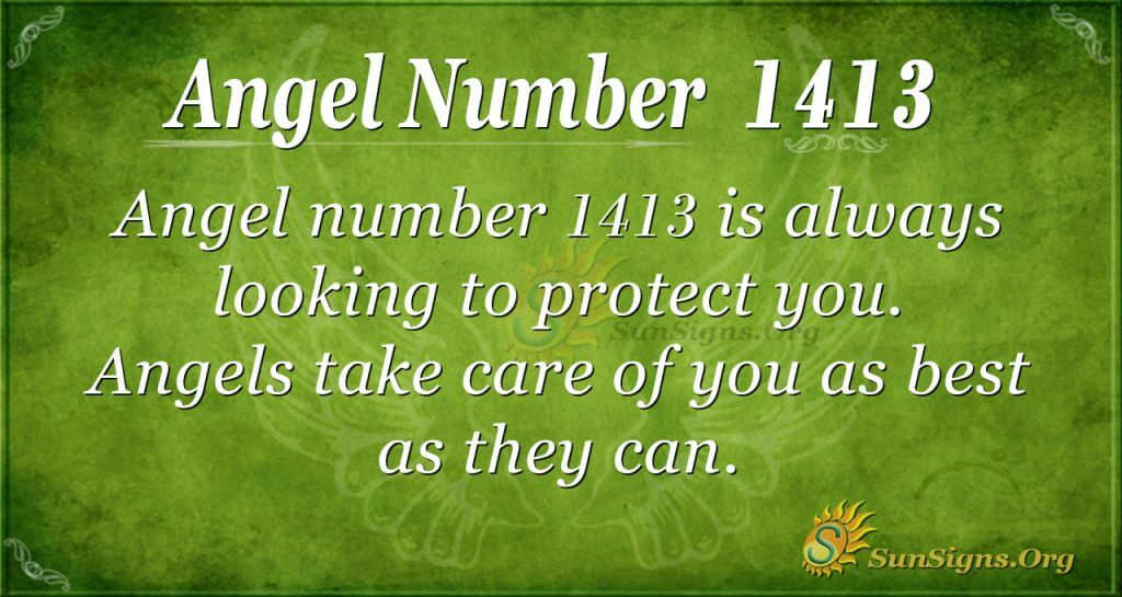 Angel Number 1413