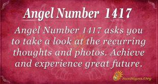 Angel Number1417