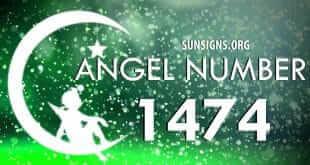 angel number 1474