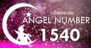 angel number 1540