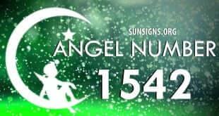 angel number 1542