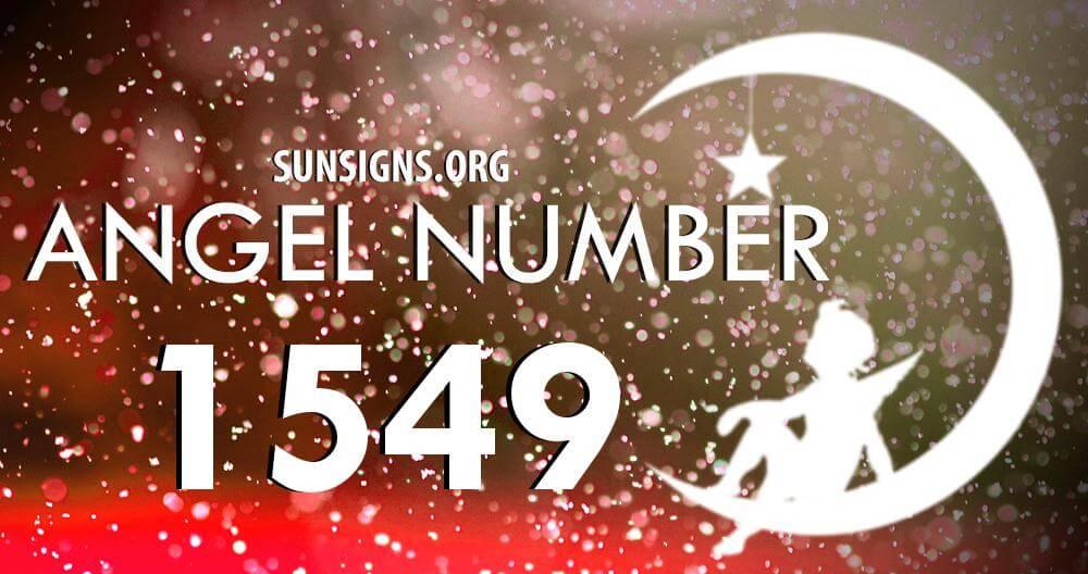 angel number 1549