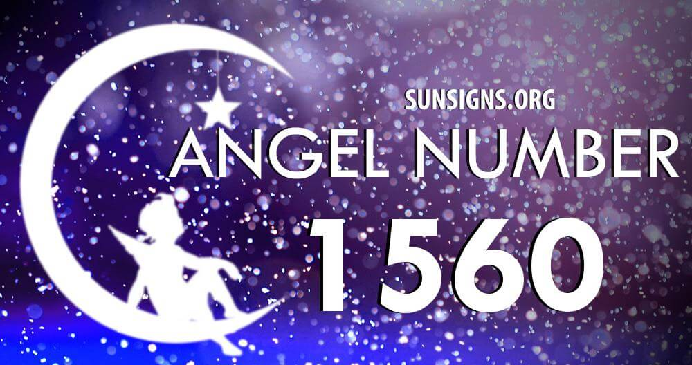 angel number 1560