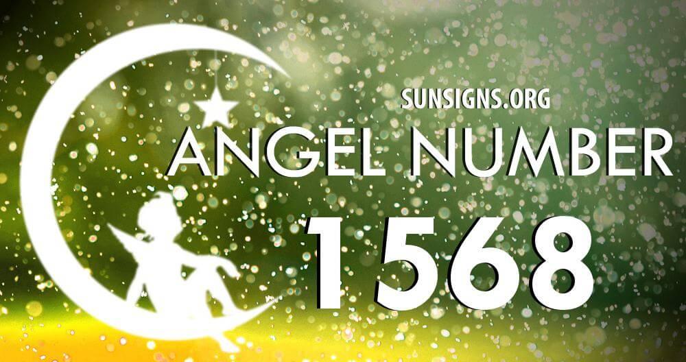 angel number 1568