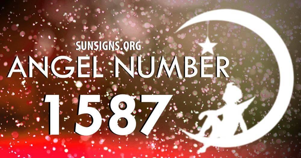 angel number 1587
