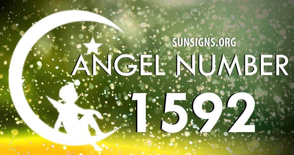 angel number 1592