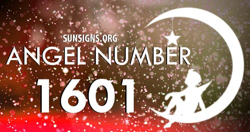 angel number 1601