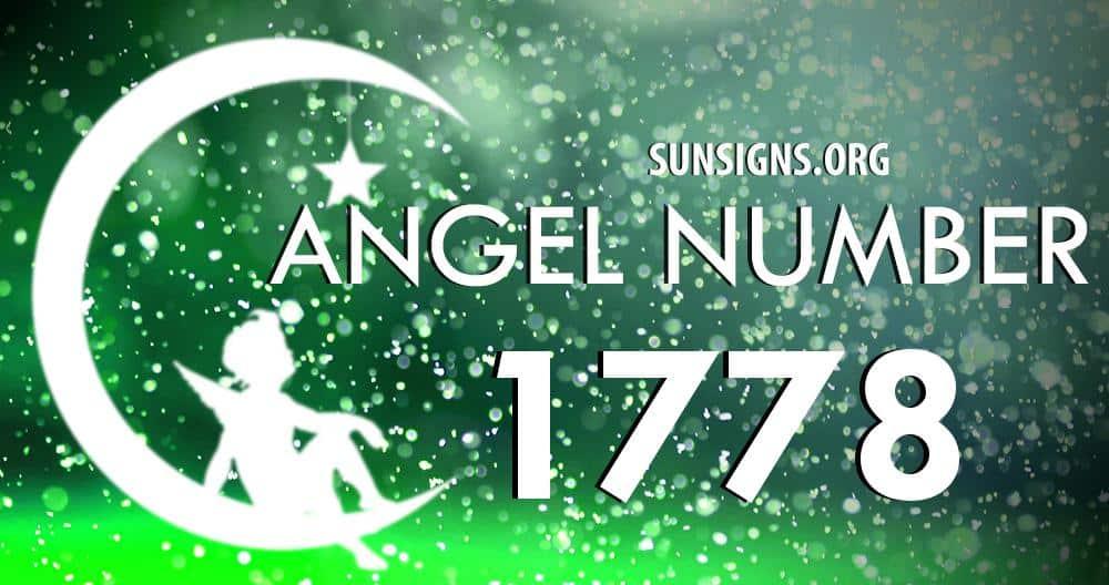 angel number 1778