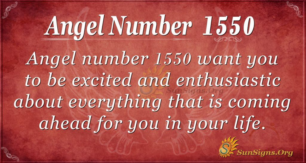 Angel Number 1550