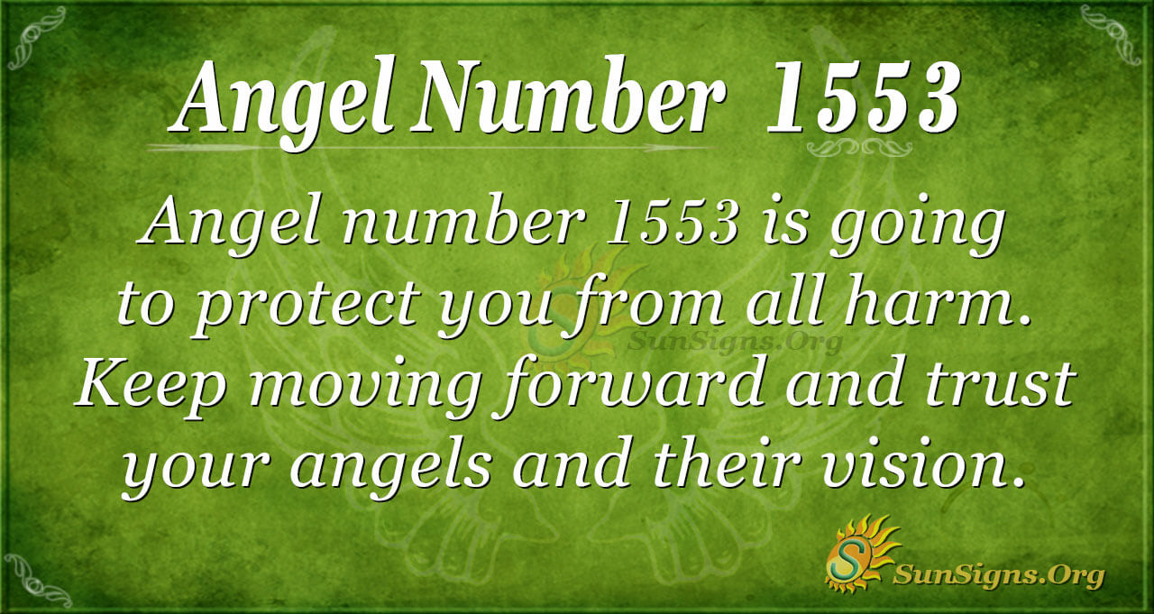 Angel Number 1553 Meaning