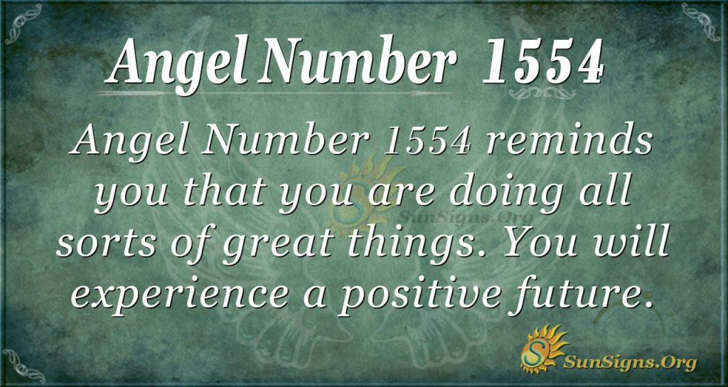 Angel Number 1554
